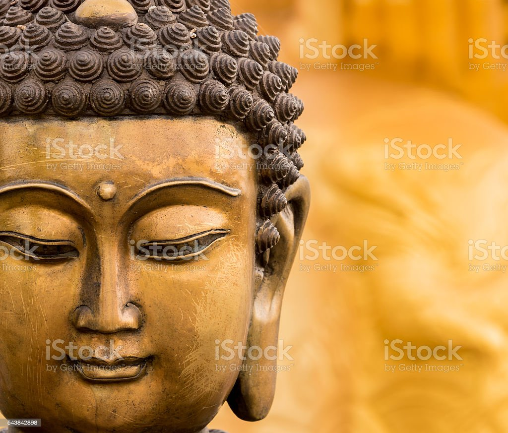 buddha-statue des buddha Bild als Horusauge des Buddhismus religion – Foto
