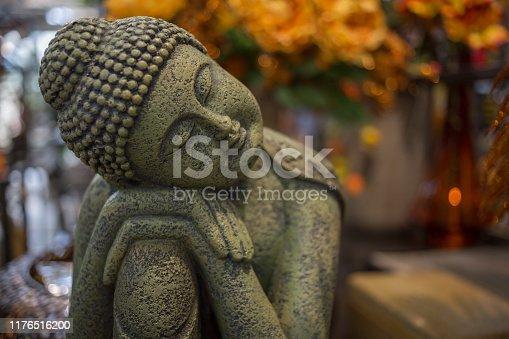buddha statue - dreaming