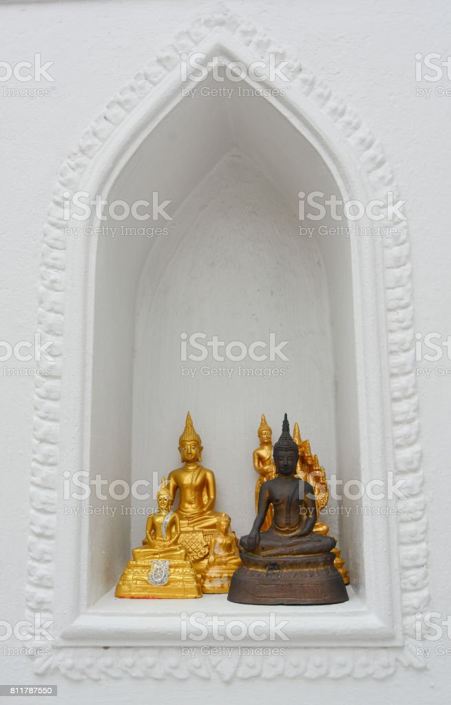 Buddha statue in Bangkok, Thailand stock photo