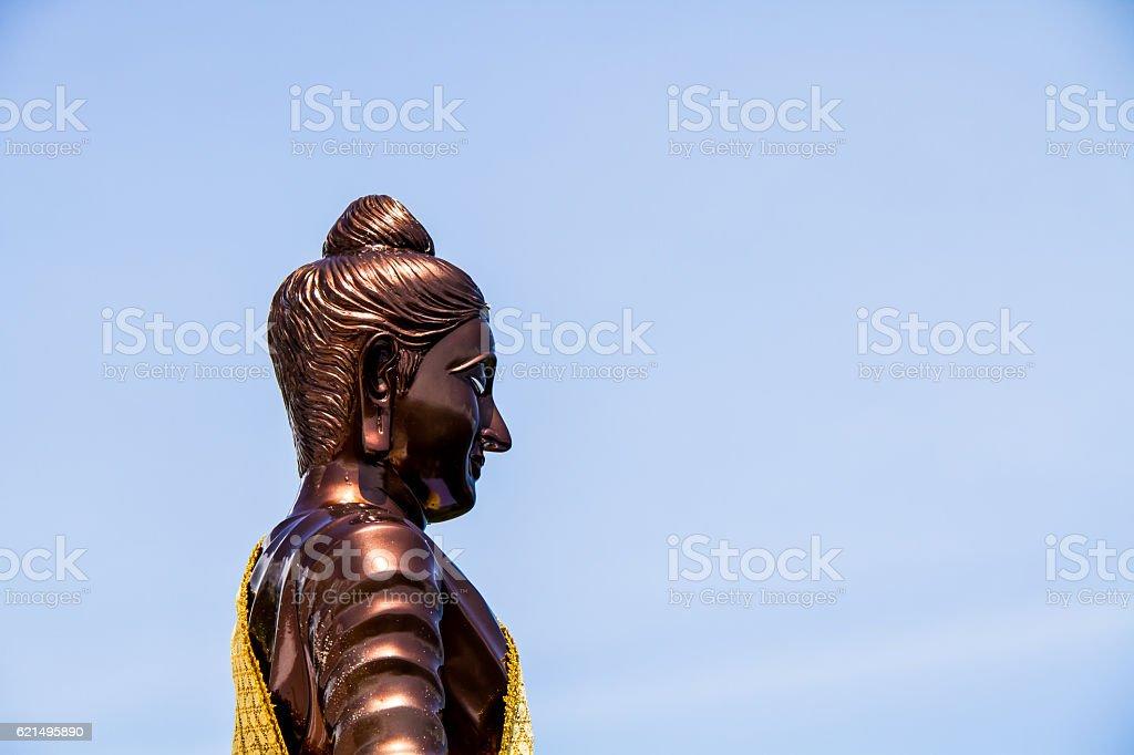 La statue de de Bouddha de Chiang Mai Thaïlande photo libre de droits