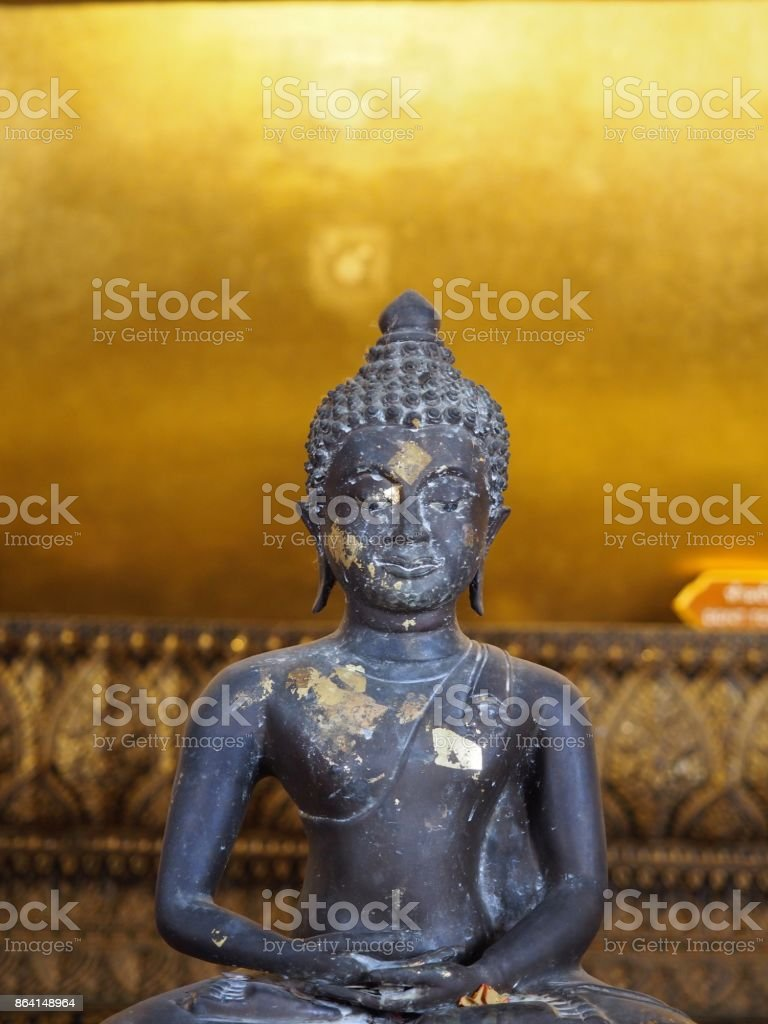 Buddha Statue in Thailand royalty-free stock photo