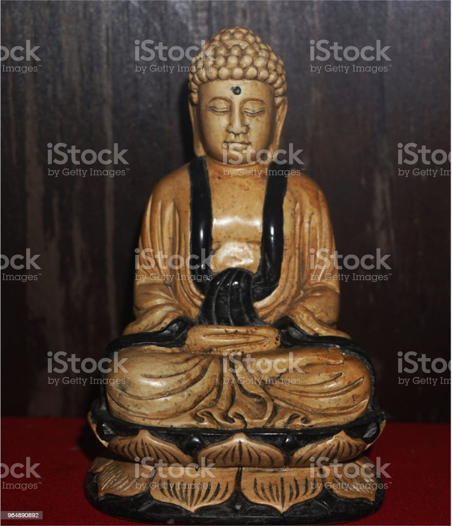 Buddha statue is an important religion of Asia. royalty-free stock photo