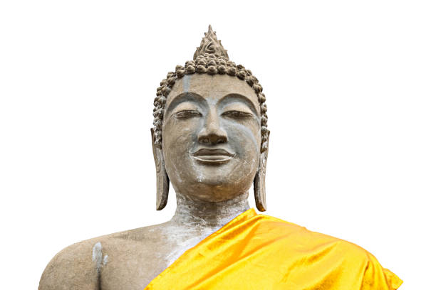 Buddha-statue Isoliert – Foto