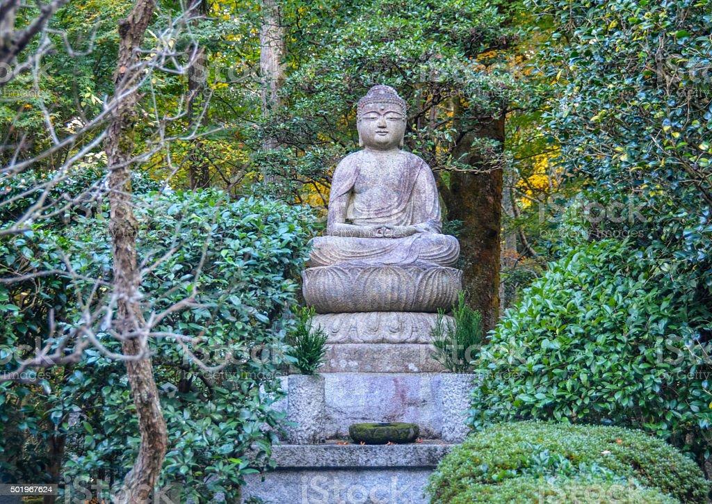 Buddha statue - Japan stock photo