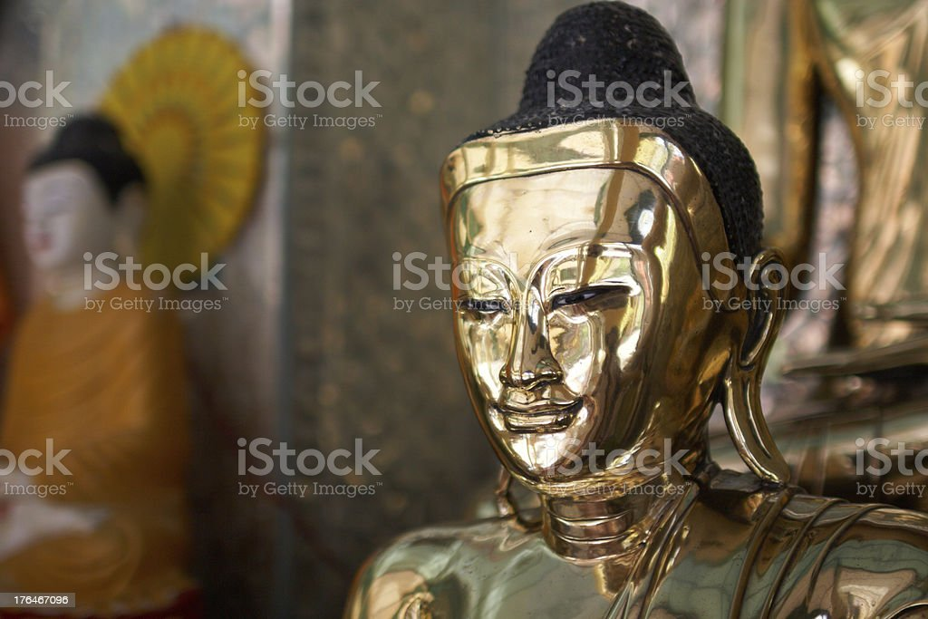 Buddha statue. Myanmar. Twente. royalty-free stock photo