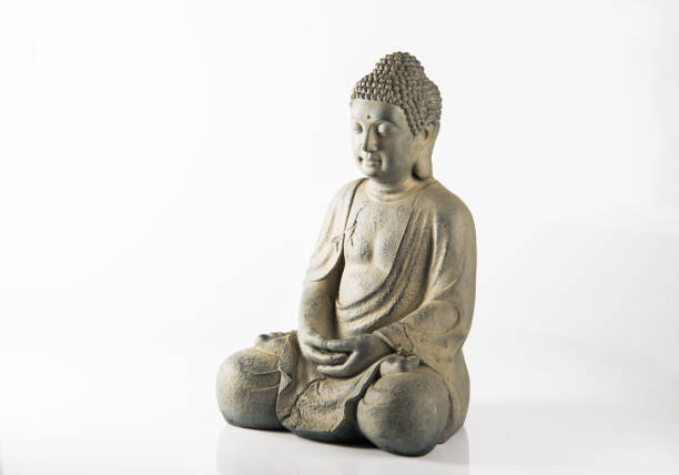 Buddha statue Stone statue of Buddha isolated buddha stock pictures, royalty-free photos & images
