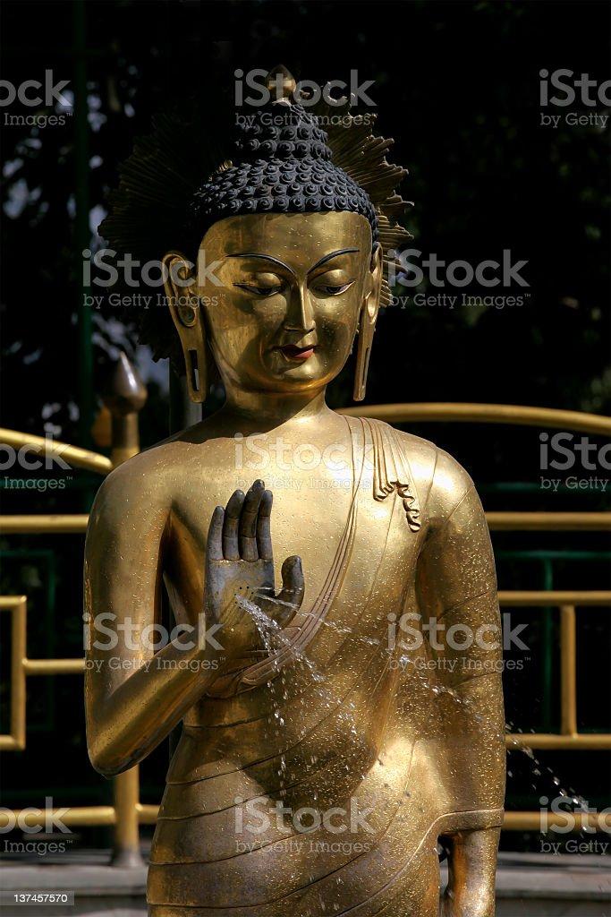 Buddha statue royalty-free stock photo