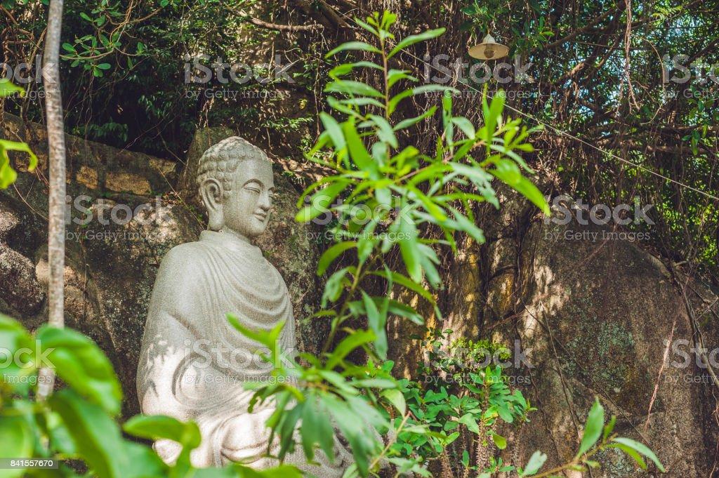 Buddha statue Vietnam in Nha Trang stock photo