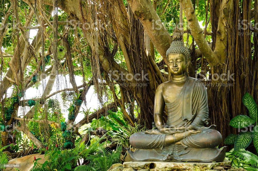 Buddha Statue Wat Rong Khun foto royalty-free