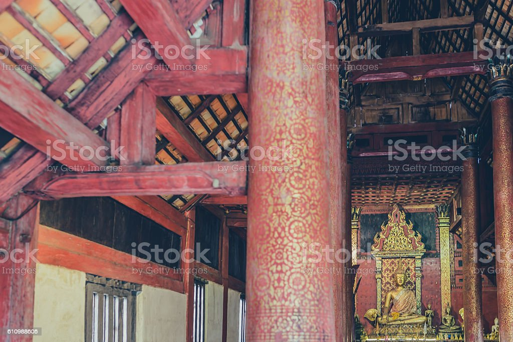 Buddha Statues in Thailand stock photo