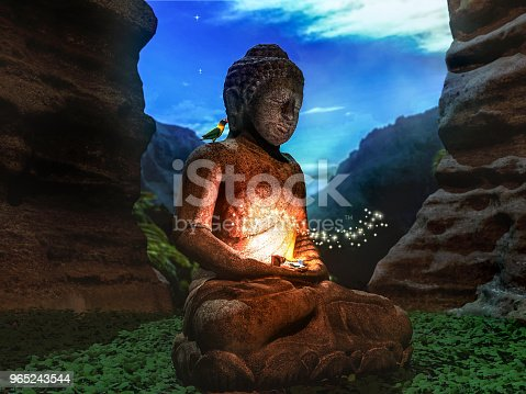 Buddha Symbol Of Inner Peace Stock Photo More Pictures Of
