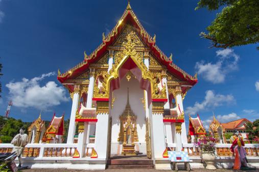 istock Buddha temple, Karon beach, Phuket - Thailand 181605721