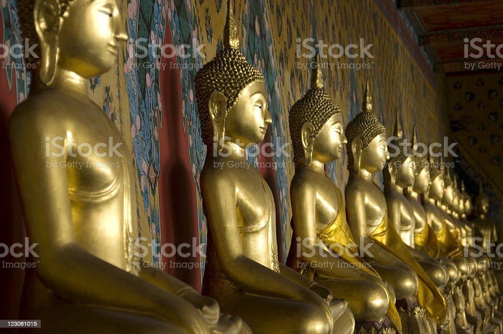 Buddha Temple Wat Arun Bangkok Thailand royalty-free stock photo