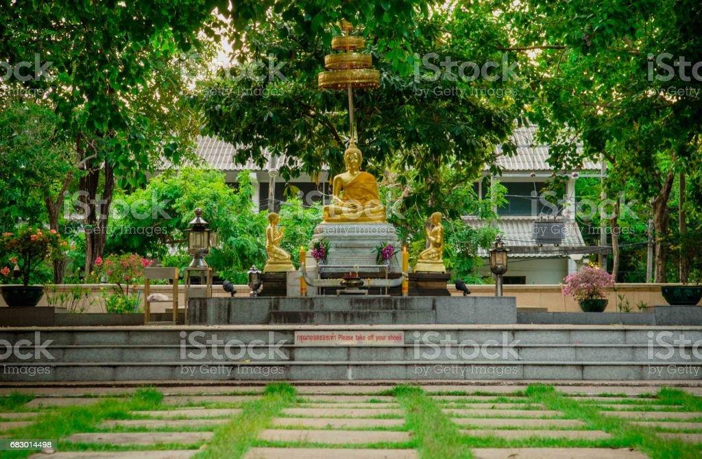 Buddha Thai statue royalty-free stock photo