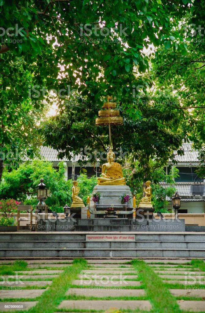 Buddha Thail statue royalty-free stock photo