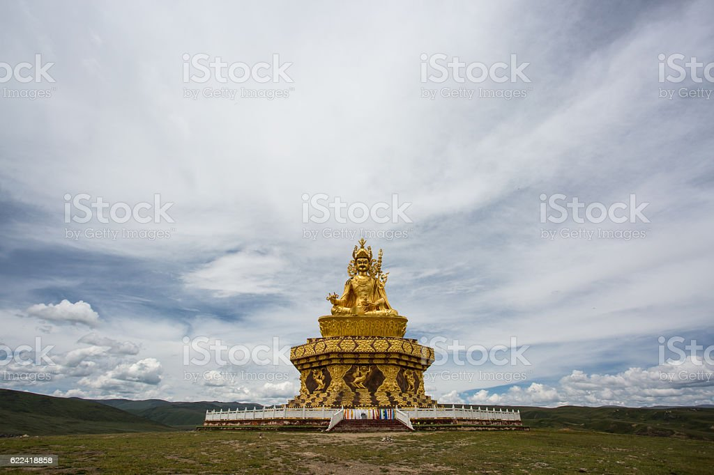 Buddha, Thimphu, Bhutan stock photo