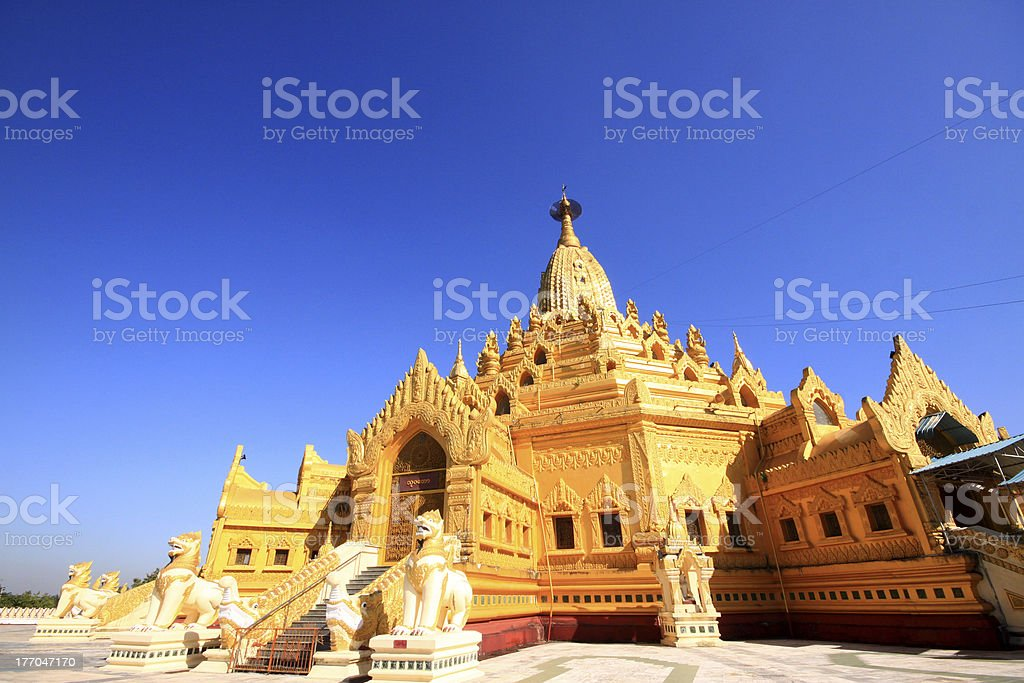 Buddha tooth relic pagoda stock photo