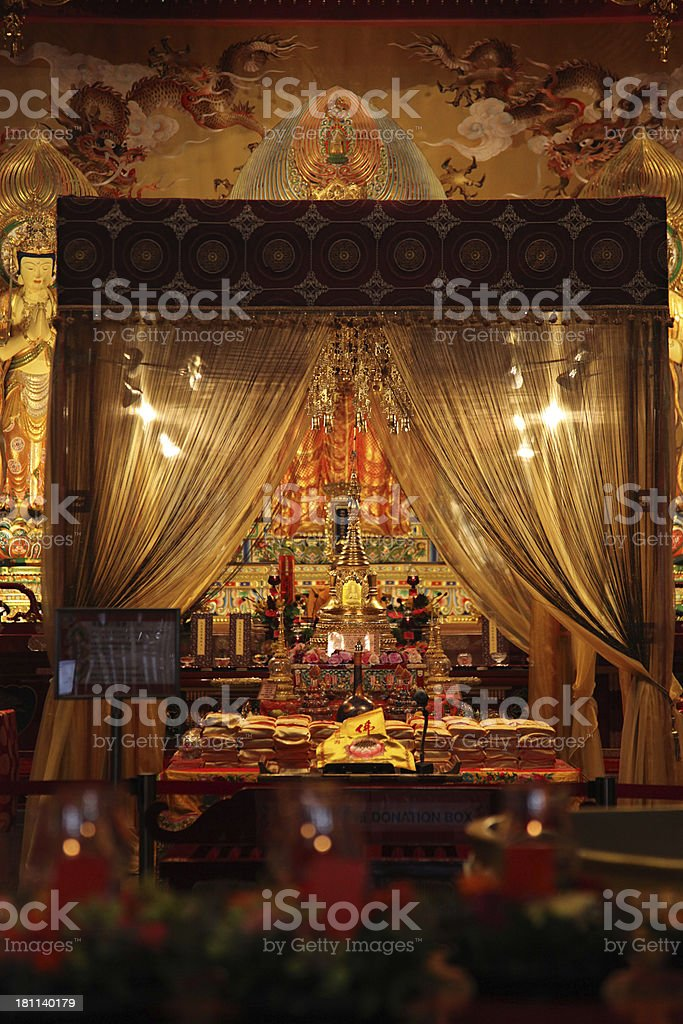 Buddha Tooth Relic Temple in Chinatown Singapore. royalty-free stock photo