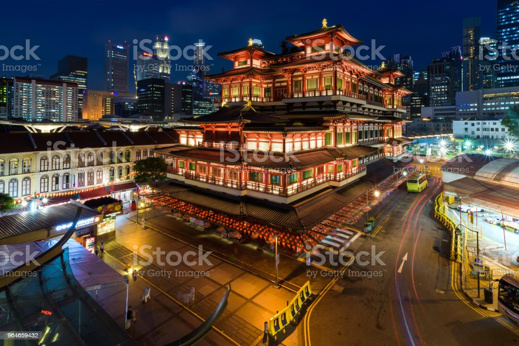 Buddha Tooth Relic Temple royalty-free stock photo