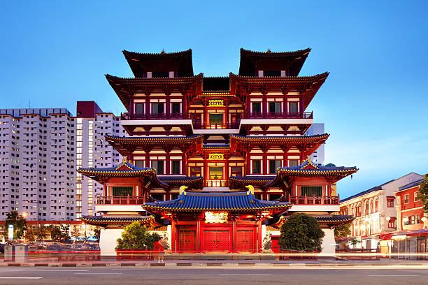 Buddha Zahn Relikt Tempel, Singapur – Foto