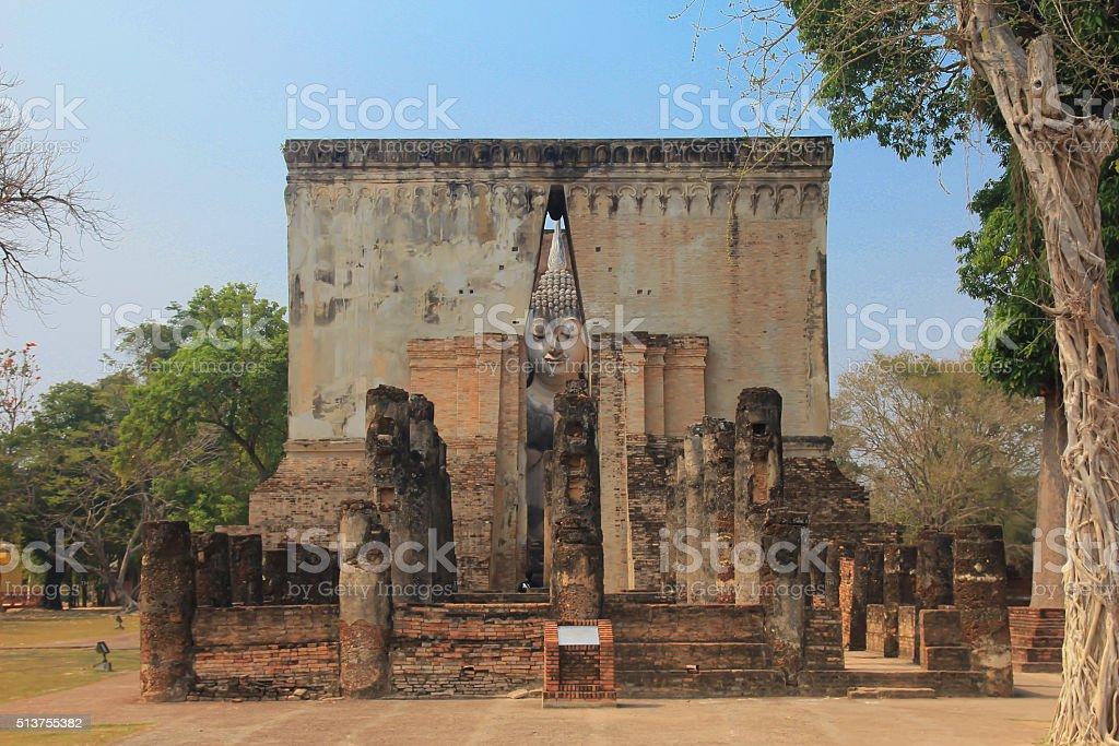 Buddha Wat Si Chum stock photo