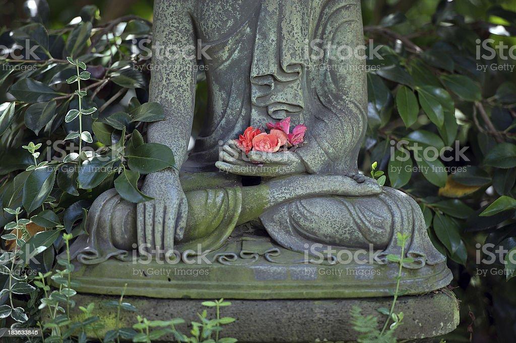 Buddhafigur Im Japanischen Garten Stock Photo More Pictures Of