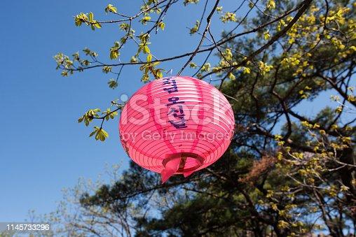 Buddha's Birthday Lanterns, Seoul 관악산 연주사