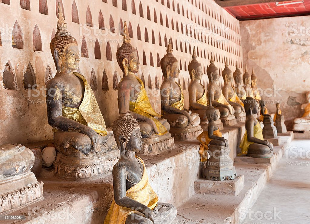 Buddhas From Laos stock photo
