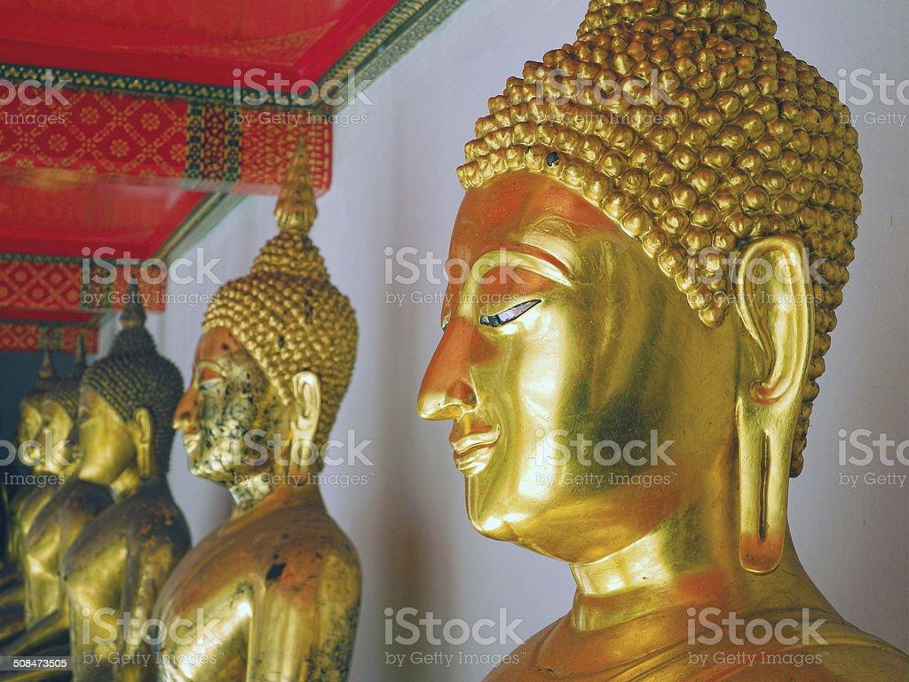 Buddhas Smile stock photo