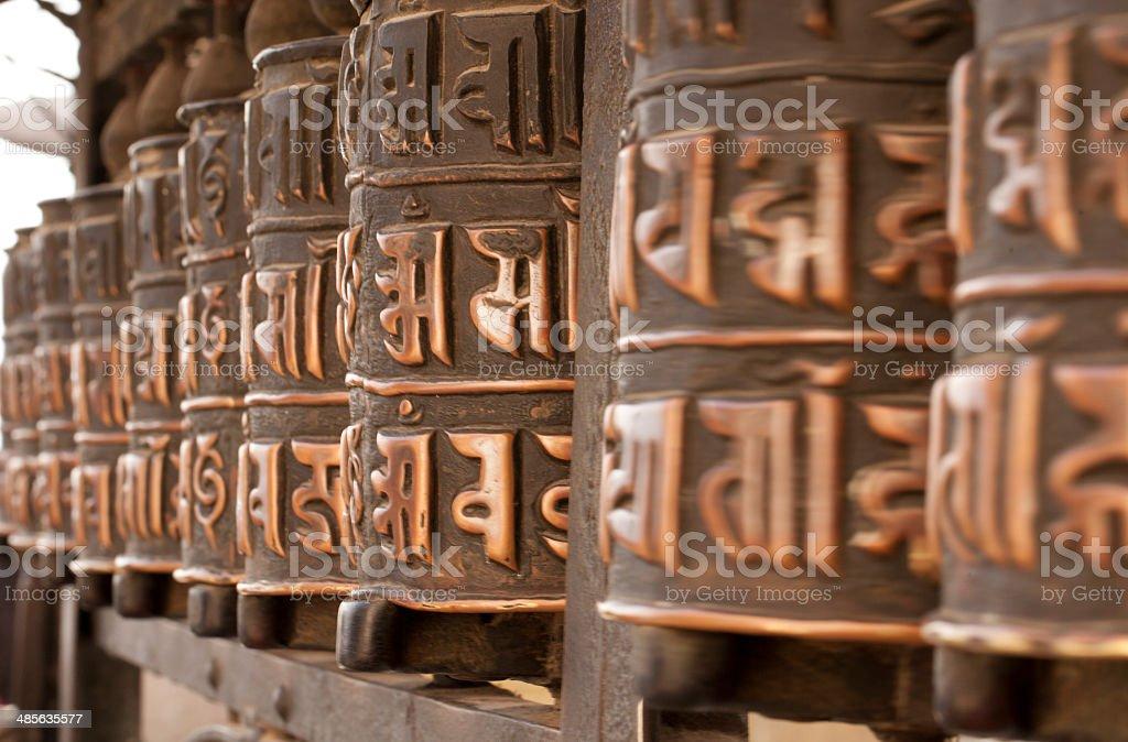 Buddhism appliances royalty-free stock photo