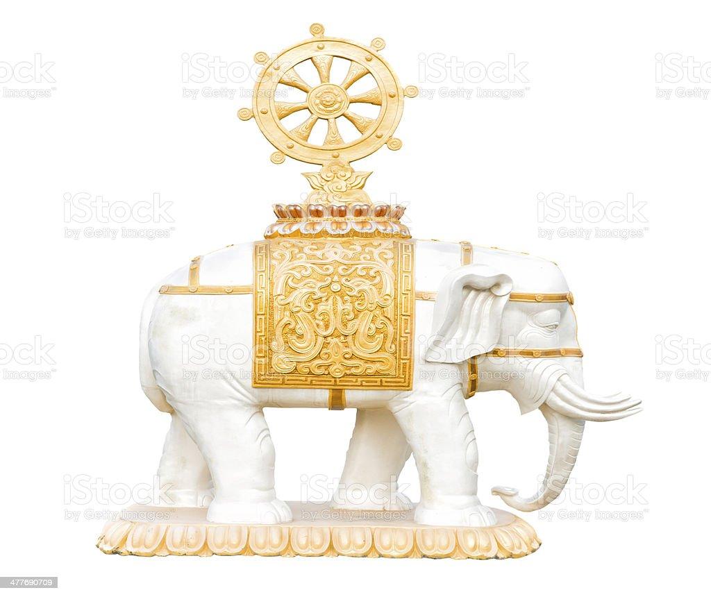 Buddhism elephant figure royalty-free stock photo