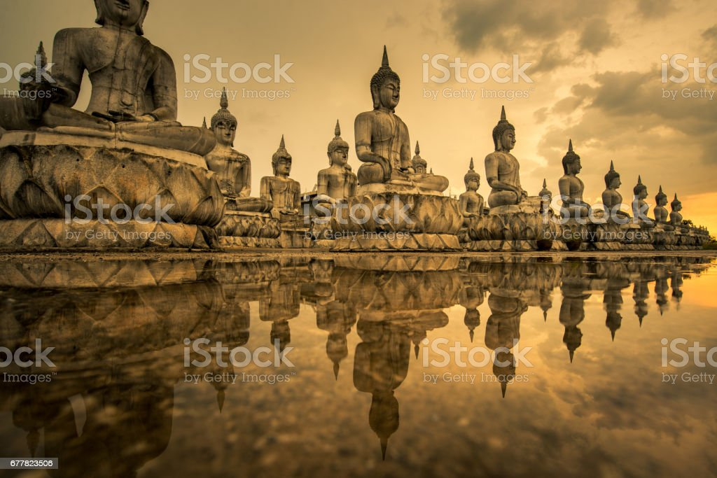 Buddhism Park in Thailand royalty-free stock photo