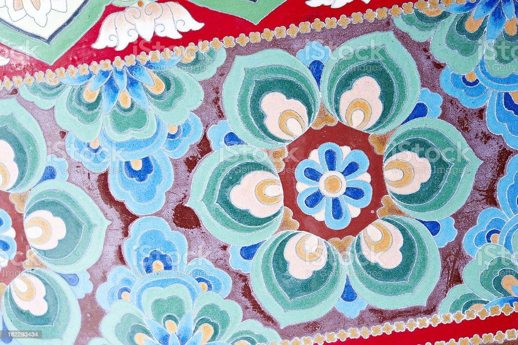 Buddhist Decoration stock photo