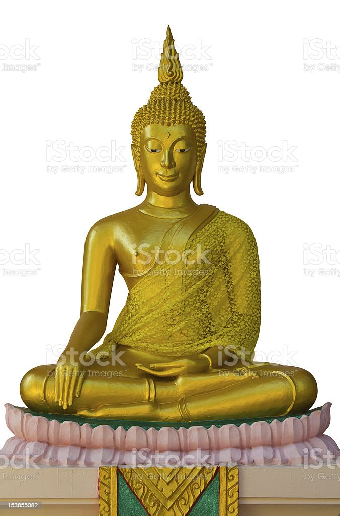 Buddhist meditation. royalty-free stock photo