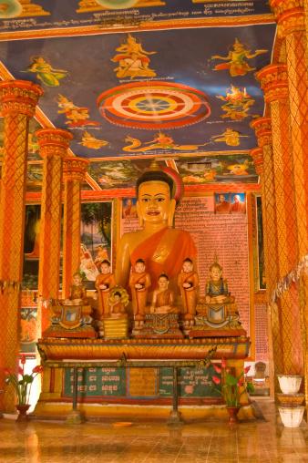 istock Buddhist Meeting Hall, Angkor, Cambodia 458112959