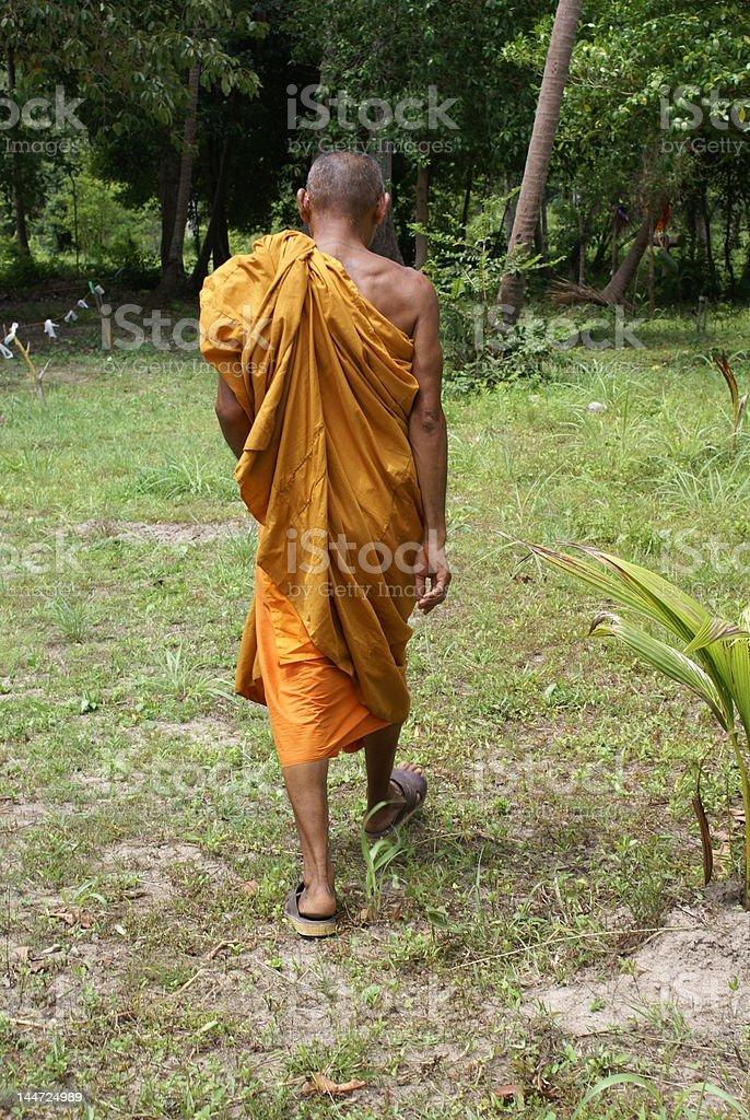 buddhist monk - Royalty-free Adult Stock Photo