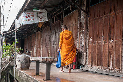Buddhist Monk Stock Photo - Download Image Now
