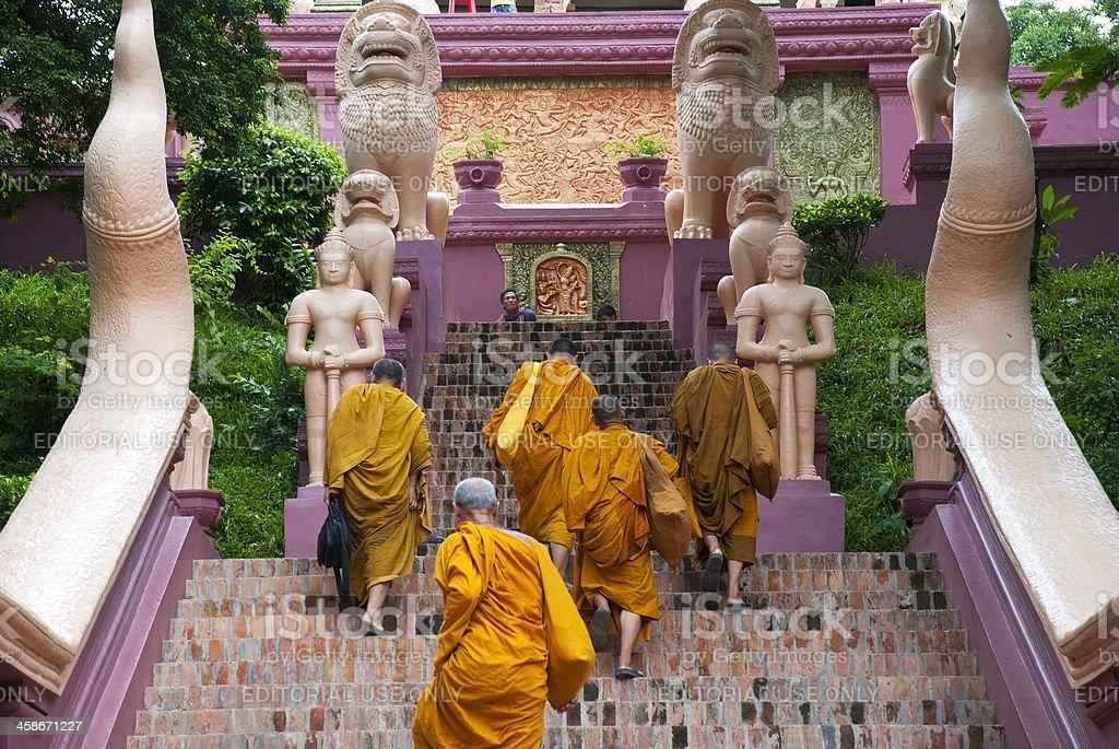 Mönche in Kambodscha – Foto