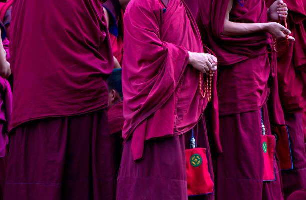 Buddhistische Mönche, Xiahe, China – Foto