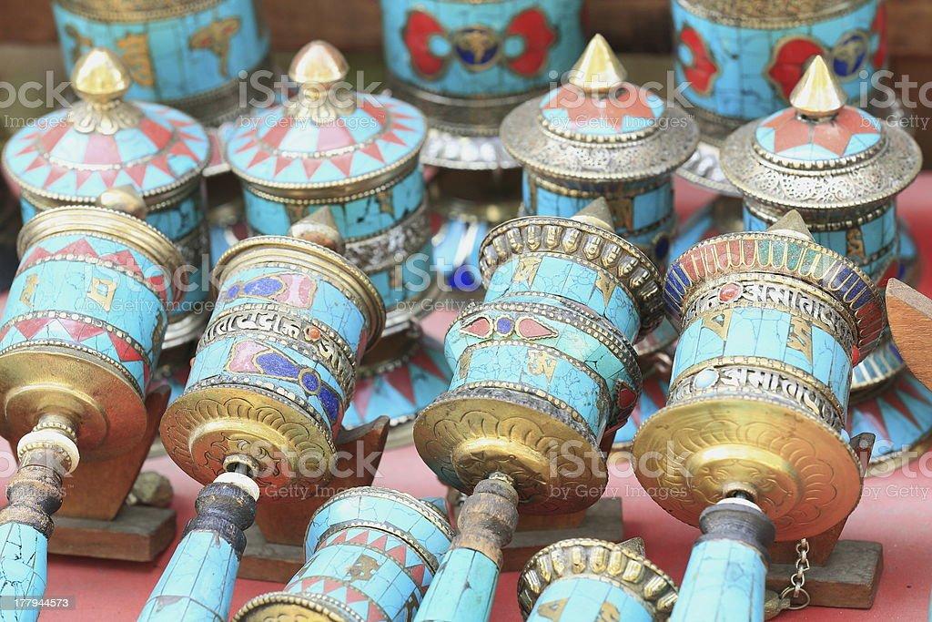 Buddhist prayer wheels-Pashupatinath-Kathmandu-Nepal. 0301 stock photo