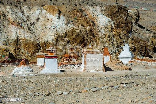 istock Buddhist religious buildings. Tibet, Himalayas. 1292886266