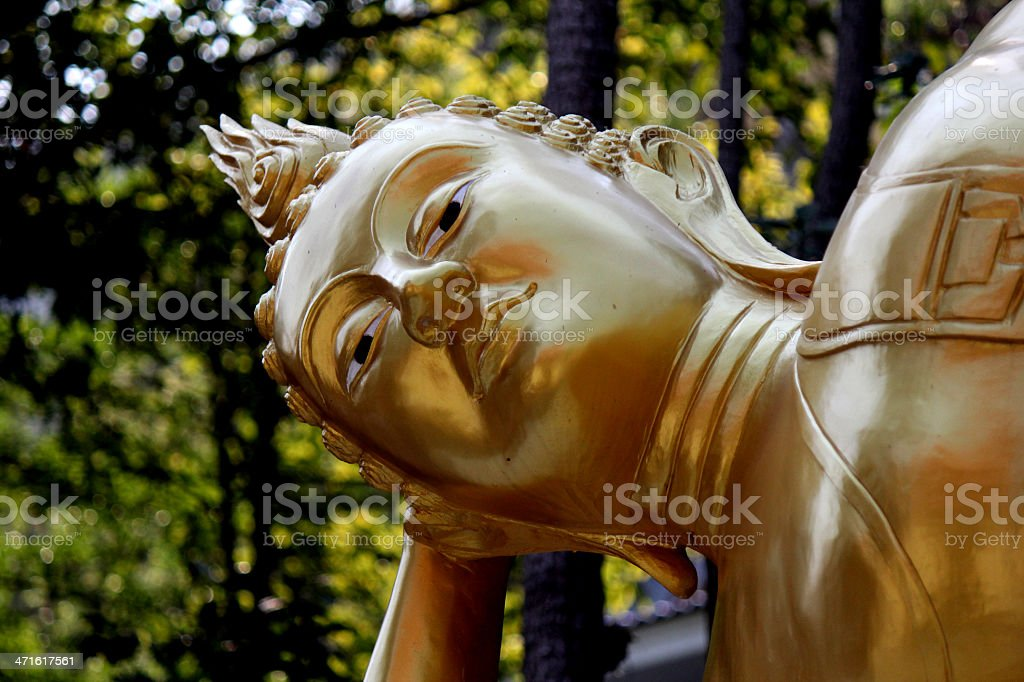 Buddhist sculpture royalty-free stock photo