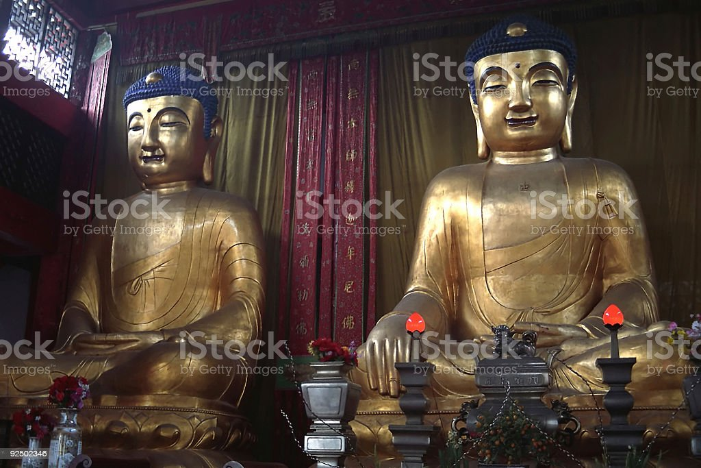 Buddhist Shrine, China royalty-free stock photo