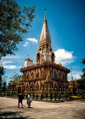 buddhist temple from Ho Chi Minh Saigon from Vietnam