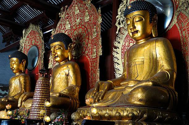 buddhist temple - guangdong i̇li stok fotoğraflar ve resimler