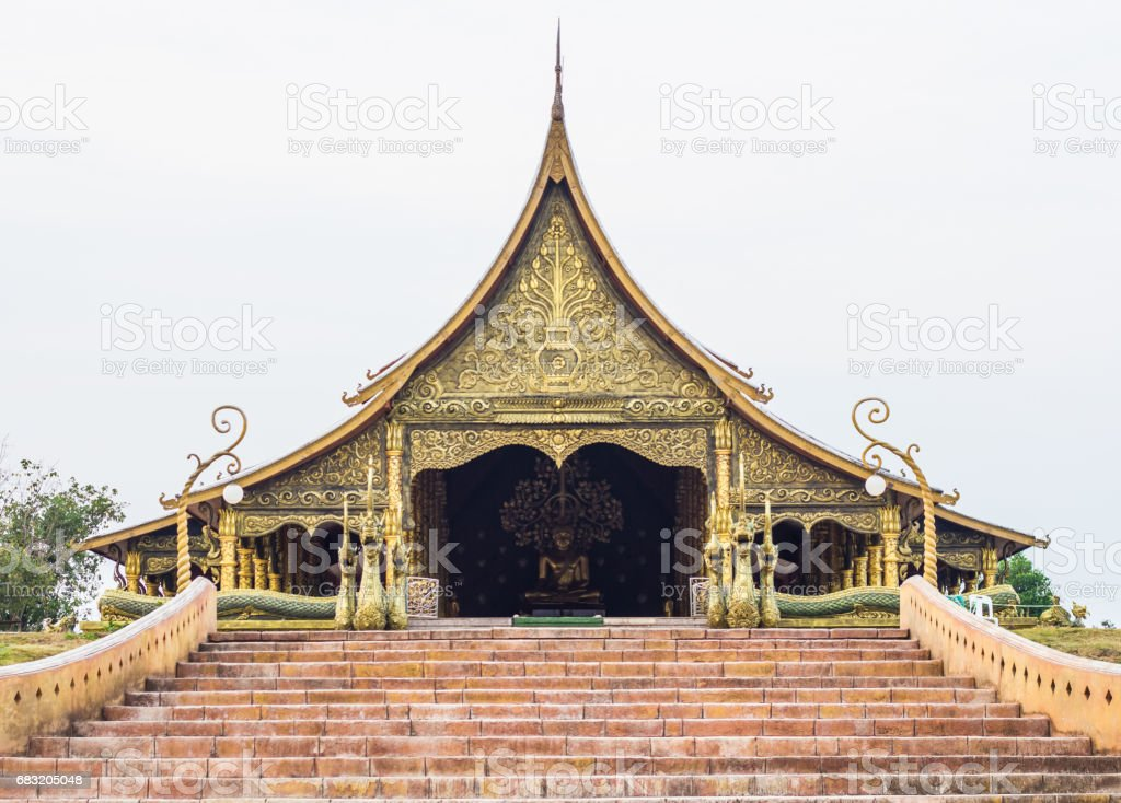 Buddhist temple foto de stock royalty-free
