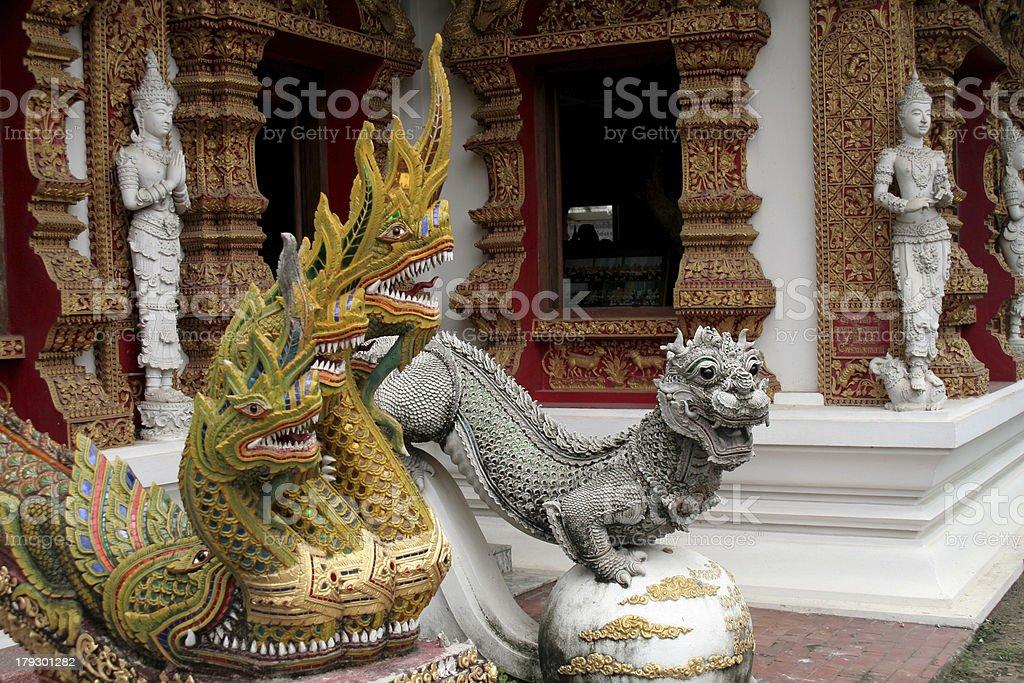 Buddhistische Tempel, Thailand – Foto