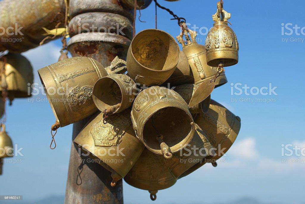 buddhistic 종소리 태국 royalty-free 스톡 사진