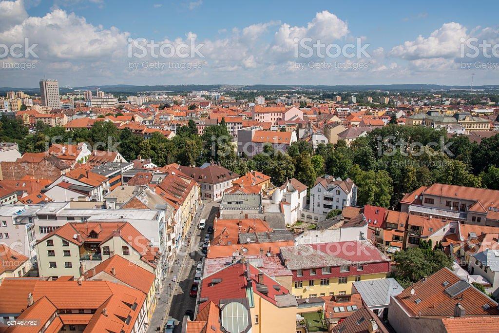 Budejovice stock photo