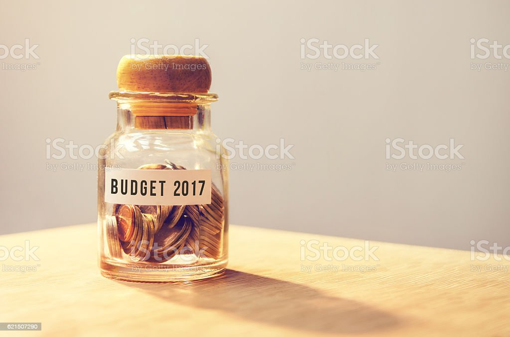 Budget 2017 foto stock royalty-free